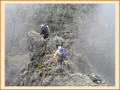 Serious scrambling on Skye
