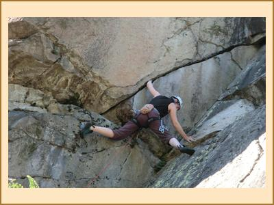 Sport climbing in France